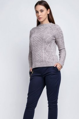 Sweter Candice SWE 042 beżowy