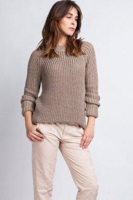 Sweter Kriss SWE 076 mocca