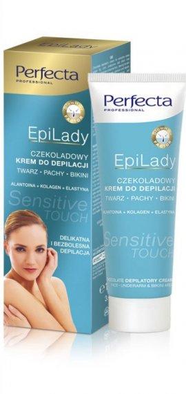 Dax Cosmetics Perfecta EpiLady Czekoladowy krem do depilacji miejsc wrażliwych  100ml