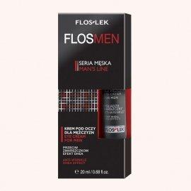 Floslek FlosMen Przeciwzmarszczkowy krem pod oczy efekt DHEA