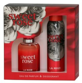 La Rive La Rive for Woman Sweet Rose Zestaw/edp100ml+deo150ml/