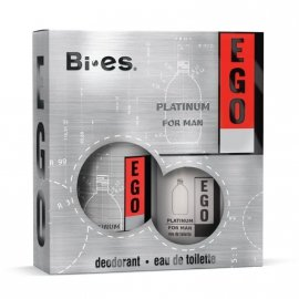Bi-es Ego Platinum Komplet woda toaletowa + deo spray