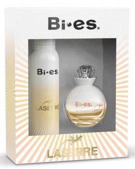Bi-es Laserre Zestaw prezentowy (dezodorant spray 150ml+woda perfumowana 50ml)