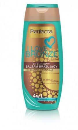 Dax Cosmetics I Love Bronze Balsam brązujący olejkowy 4w1 ciemna karnacja 250ml