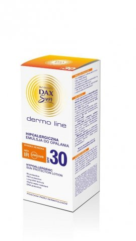 Dax Sun Dermo Line Emulsja do opalania SPF 30 hipoalergiczna  200ml