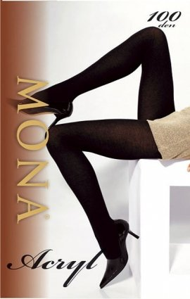 Rajstopy Mona Acryl 1-4 100 den