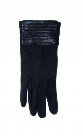 Rękawiczki YO! R-047 Skóra damskie