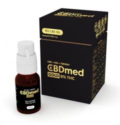CBDmed GOLD 10% + Terpeny