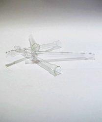 Cygarniczka lufka szklana prosta