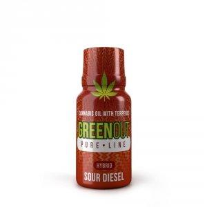 Green Out Pure Mini Sour Diesel HYBRID – Ekstrakt Premium 200mg