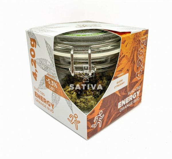 "ENERGY CBD Kwiaty Konopi ""Orange Bud"" 4,20g"