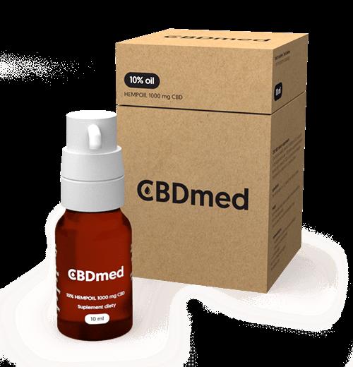 CBDmed 10% Hempoil 1000mg CBD