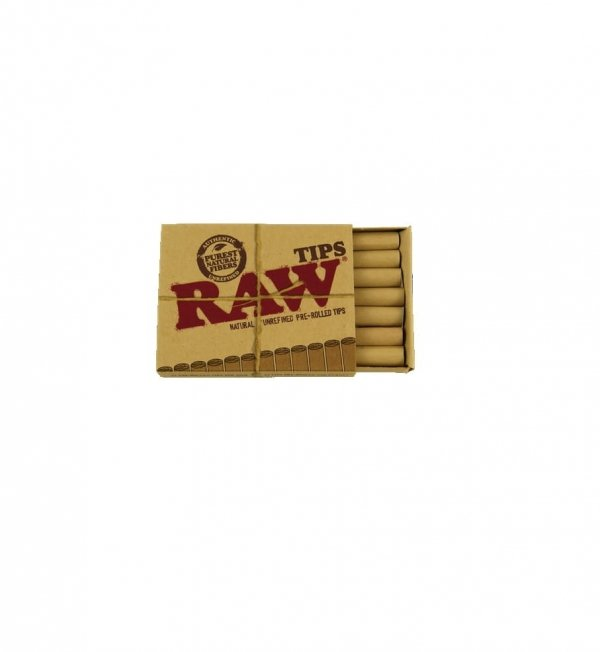 Filterki skręcone RAW PREROLLED TIPS