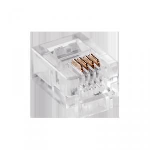 Wtyk telefon.RJ11   6P 4C