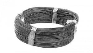 Przewód silikonowy SiF 1x0,5 czarny 300/500V 23301 /100m/