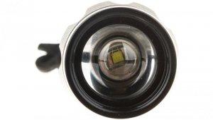 Latarka metalowa LED 3W 180lm /z zoomem/ 3xAAA czarna P3830