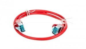 Kabel krosowy (Patch Cord) U/UTP kat.5e czerwony 0,5m DK-1512-005/R