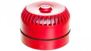 Sygnalizator akustyczny pożarowy z niską podstawą, konwencjonalny, Satel SPP-100