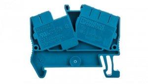 Listwa zaciskowa przepustowa 3-przewodowa 0,08-4mm2 niebieska długość 51mm STS 2,5-TWIN BU 3036275 /50szt./