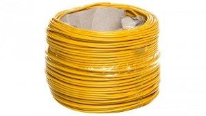 Przewód instalacyjny H07V-K (LgY) 1,5 żółty /100m/
