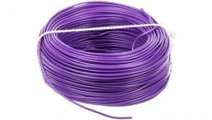 Przewód instalacyjny H05V-K (LgY) 0,75 fioletowy /100m/