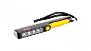 Latarka / lampa akumulatorowa LED z klipsem HL DA 41 MC z gniazdem ładowania USB 1175890