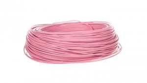 Przewód instalacyjny H05V-K 0,5 różowy 4510081 /100m/