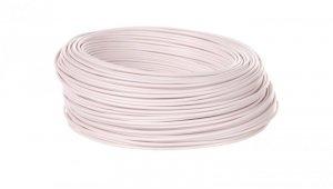 Przewód instalacyjny H05V-K 0,75 biały 29102 /100m/