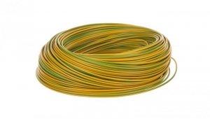 Przewód instalacyjny H05V-K 0,75 żółto-zielony 29098 /100m/