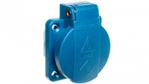 Gniazdo tablicowe 3P 16A 230V niebieskie IP44 11131 MEN11131