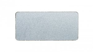 Etykieta opisowa samoprzylepna 12,5x27mm srebrna bez opisu Sirius ACT 3SU1900-0AC81-0AA0