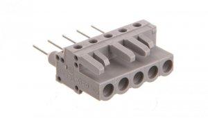 Gniazdo MCS-MIDI Classic 5-biegunowe szare raster 5mm 232-135/005-000