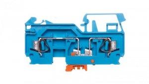Złączka rozłączalna 2-przewodowa 2,5mm2 nóż rozłączający pomarańczowy 280-876