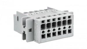 Wtyk X-COM 6-biegunowy szary raster 5mm 769-606/002-000 /50szt./
