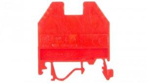 Złączka szynowa gwintowa 4mm2  czerwona VS 4 PA+ 003901039