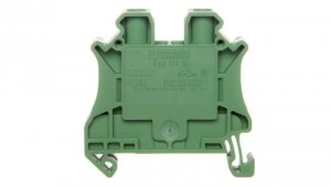 Złączka szynowa 2-przewodowa 6mm2 zielona Ex UT 6 GN 3045211 /50szt./