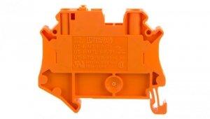 Złączka przelotowa 2-przewodowa z odłącznikiem nożowym 4mm2 pomarańczowa UT 4-MT-P/P OG 3046443