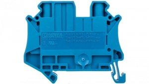 Złączka szynowa rozłączalna 2-przewodowa 6mm2 niebieska UT 6-TG P/P BU 3073872 /50szt./