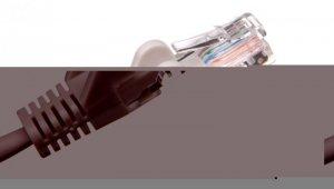 Kabel krosowy patchcord U/UTP kat.5e CCA szary 2m 68357