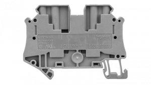 Złączka szynowa 4-przewodowa 4mm2 szara ATEX NSYTRV44