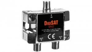 Rozgałęźnik sygnału RTV GN-2GN SP42 DigiSat 5-2400MHz 77-211#