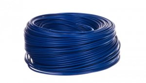 Przewód instalacyjny H07V-K 1,5 niebieski morski 4520161 /100m/