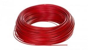 Przewód instalacyjny H05V-K 0,75 czerwony 4510042 /100m/