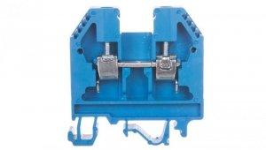 Złączka szynowa gwintowa 6mm2 niebieska VS 6 PA N 003901069