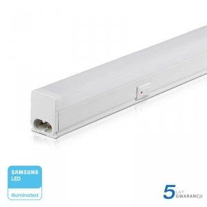Belka LED V-TAC SAMSUNG CHIP 16W 120cm z włącznikiem VT-125 3000K 1440lm 5 Lat Gwarancji