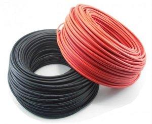Kabel fotowoltaiczny ELT-FLEX SOLAR HX 1x6 1,5kV DC czerwony /bębnowy/
