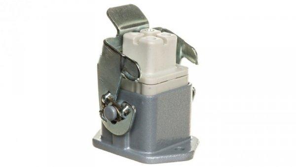Zestaw kompletny 3+PE stykowy żeński /obudowa pulpitowa + wkład/ EPIC KIT H-A 3 BS MAG 75009606