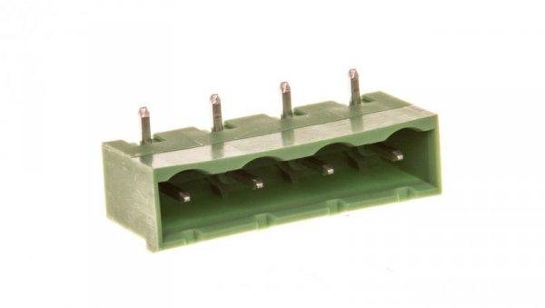 Gniazdo pinowe 4P 12A 630V raster 7,62mm zielone GMSTBA 2,5/ 4-G-7,62 1766259