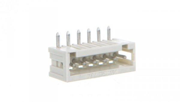 Wtyk MCS-MINI Classic 6-biegunowy jasnoszary raster 3,5mm 734-166 /100szt./