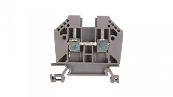 Złączka szynowa 2-przewodowa 6mm2 szara EURO 6/35 43401